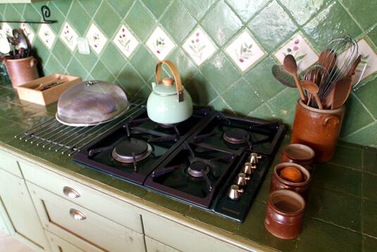 La cuisine Ferme de Cezallie